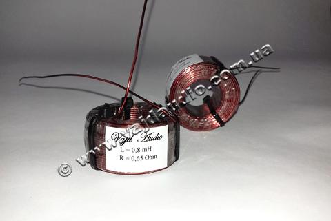 Катушка индуктивности Vajd Audio  0,8 mH* 0,65 Оhm* 0,8 mm