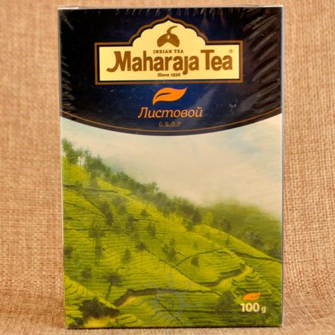 Чай ассам черный байховый мелкий лист Махараджа, 100г