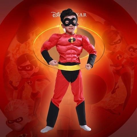 Суперсемейка костюм детский с мышцами