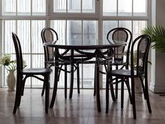 Стол  Secret De Maison Тонет (Тонет (THONET)) (mod.T9032-100) — дерево береза/стекло