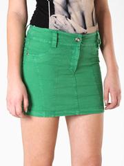 7147 юбка зеленая