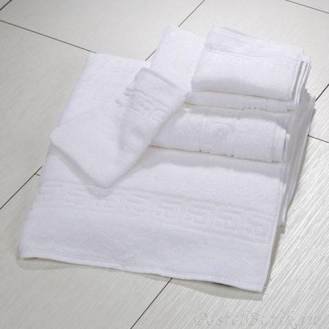Полотенце 30x50 Cawo Noblesse 1001 белое