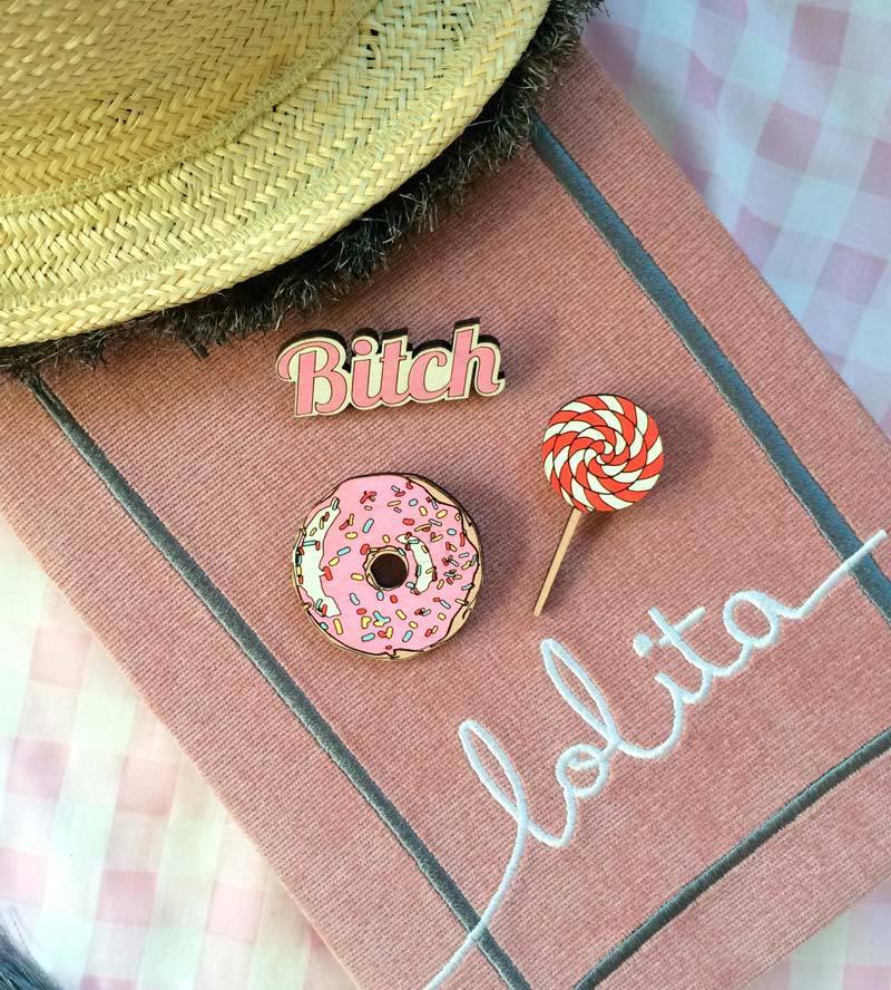 Брошь Пончик от Yes Please