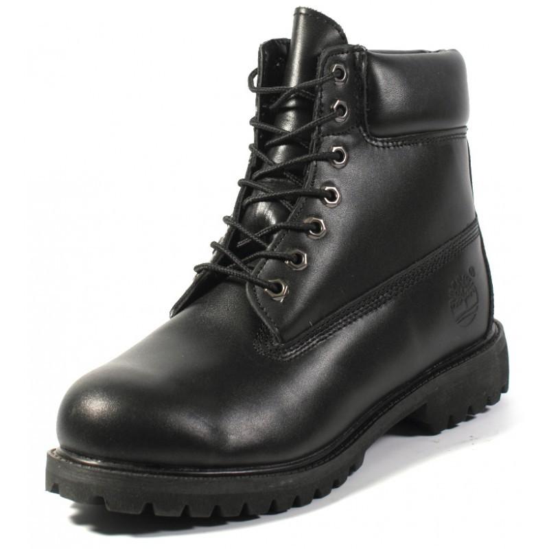 0b4385014bae Купить мужские кожаные зимние ботинки Timberland Original Black в интернет  магазине Stylishbag