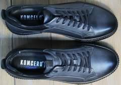 Кеды низкие мужские Komcero 9K9154-734 Black-Grey