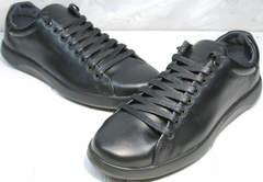Туфли кроссовки мужские GS Design 5773 Black