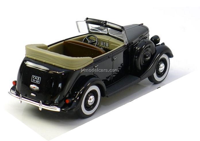 GAZ-11-40 1940 black 1:43 Nash Avtoprom