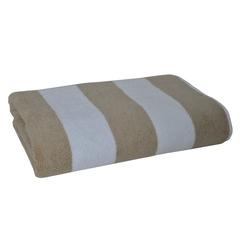 Полотенце 70х140 Casual Avenue Tampa коричневое/белое