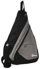 Однолямочный рюкзак SWISSWIN 1630-84 Grey