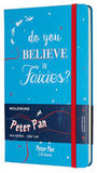 Блокнот Moleskine Limited Peter Pan Large 130х210мм 240стр линейка Fairies (LEPN01DQP060)