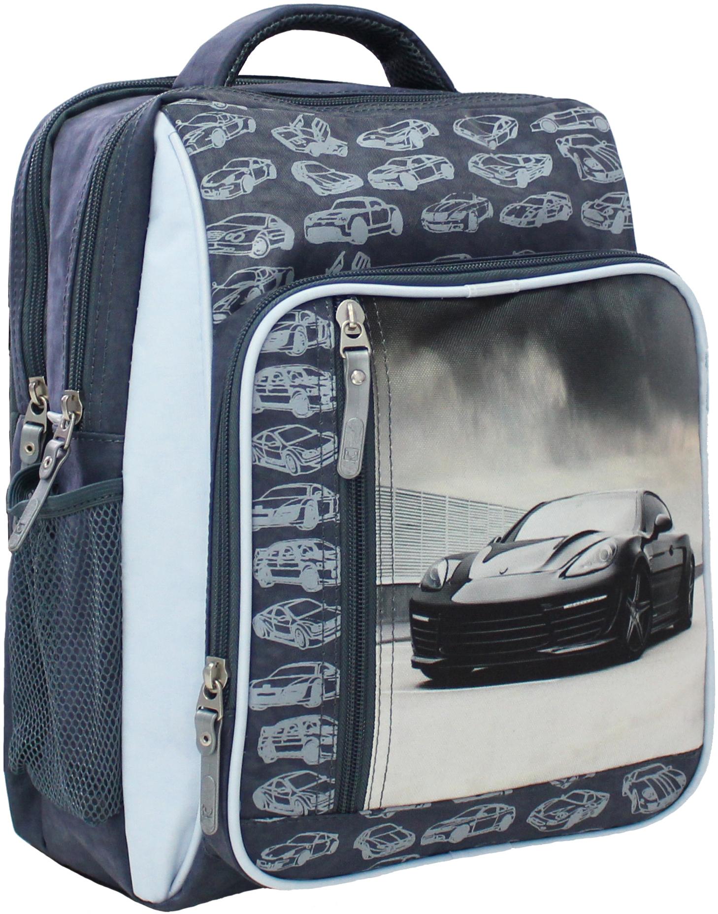 Школьные рюкзаки Рюкзак школьный Bagland Школьник 8 л. 321 сірий 43 м (00112702) IMG_5108.JPG