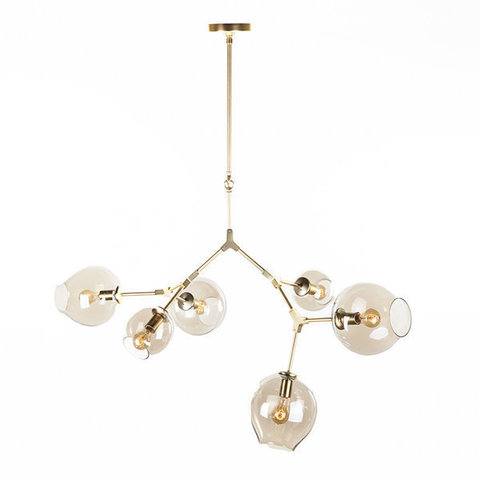 replica   BRANCHING BUBBLE CHANDELIER  6 by LINDSEY ADELMAN ( GOLD )