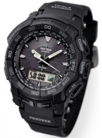 Купить Мужские часы CASIO PRO TREK PRG-550-1A1ER по доступной цене