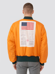 Alpha Industries MA-1 Blood Chit Patrol Green/Orange