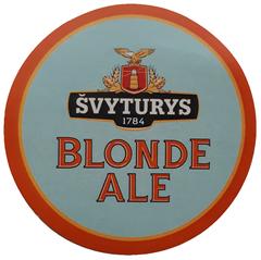 Пиво Svyturys Blonde Ale