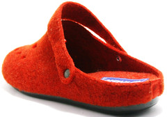 Комнатные тапочки inblu женские, красные, уютные, мяккие