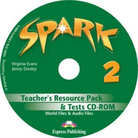 Spark 2. Teacher's resource pack & tests Cd-rom (international/monstertrackers). CD-ROM для учителя к тестовым заданиям с дополнительными материалами