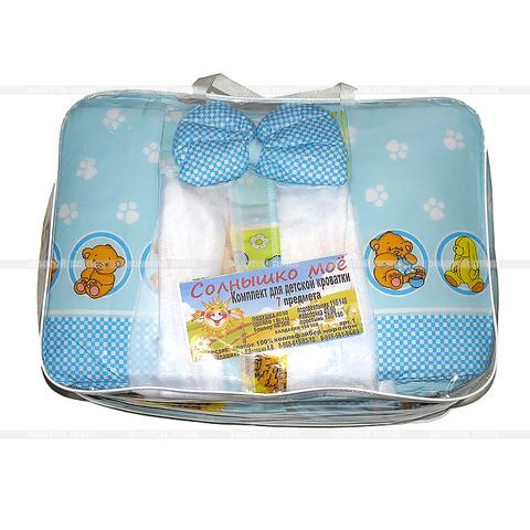 Комплект для детской кроватки 7 предметов ZP-10OKT-LD26(50)