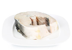 Белуга стейк замороженный~900г
