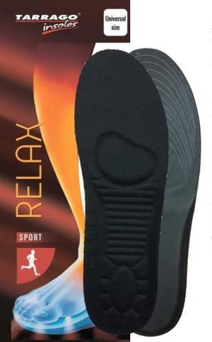 Стельки для спортивной обуви, Tarrago RELAX, Б/Р