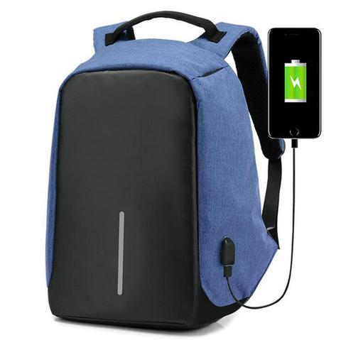 Рюкзак Kalidi USB Синий