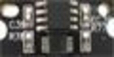 Чип красного тонер-картриджа KM MC8650 - magenta toner chip