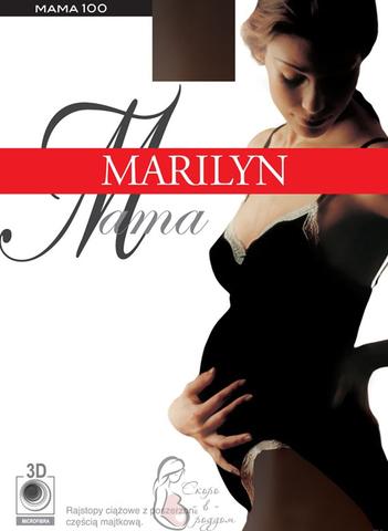 Mama Marilyn. Колготки для беременных с микрофиброй, 100 ден