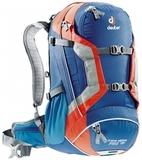 Рюкзак велосипедный Deuter Trans Alpine PRO 28_3905 steel-papaya