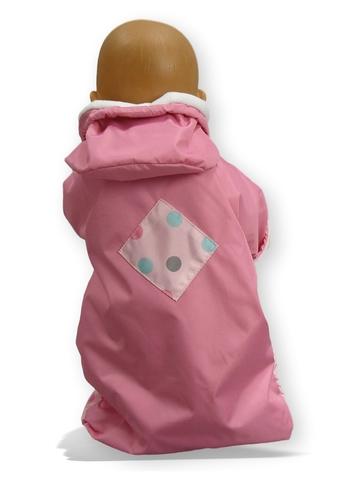 Прогулочный конверт - Детали. Одежда для кукол, пупсов и мягких игрушек.