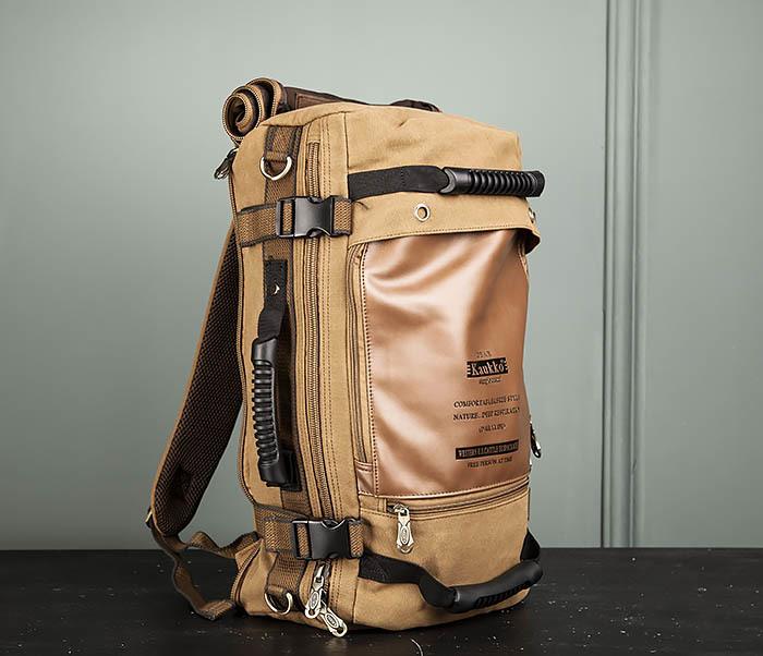 BAG365-2 Рюкзак-трансформер из плотного текстиля фото 12