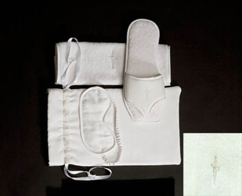 Домашние тапочки женские Cesare Paciotti Stilleto слоновой кости
