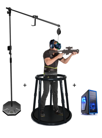 Аттракцион виртуальной реальности WIZDISH