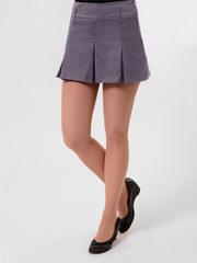 5318 юбка темно-серая