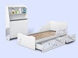Изголовье с полкой для кровати Леди-3