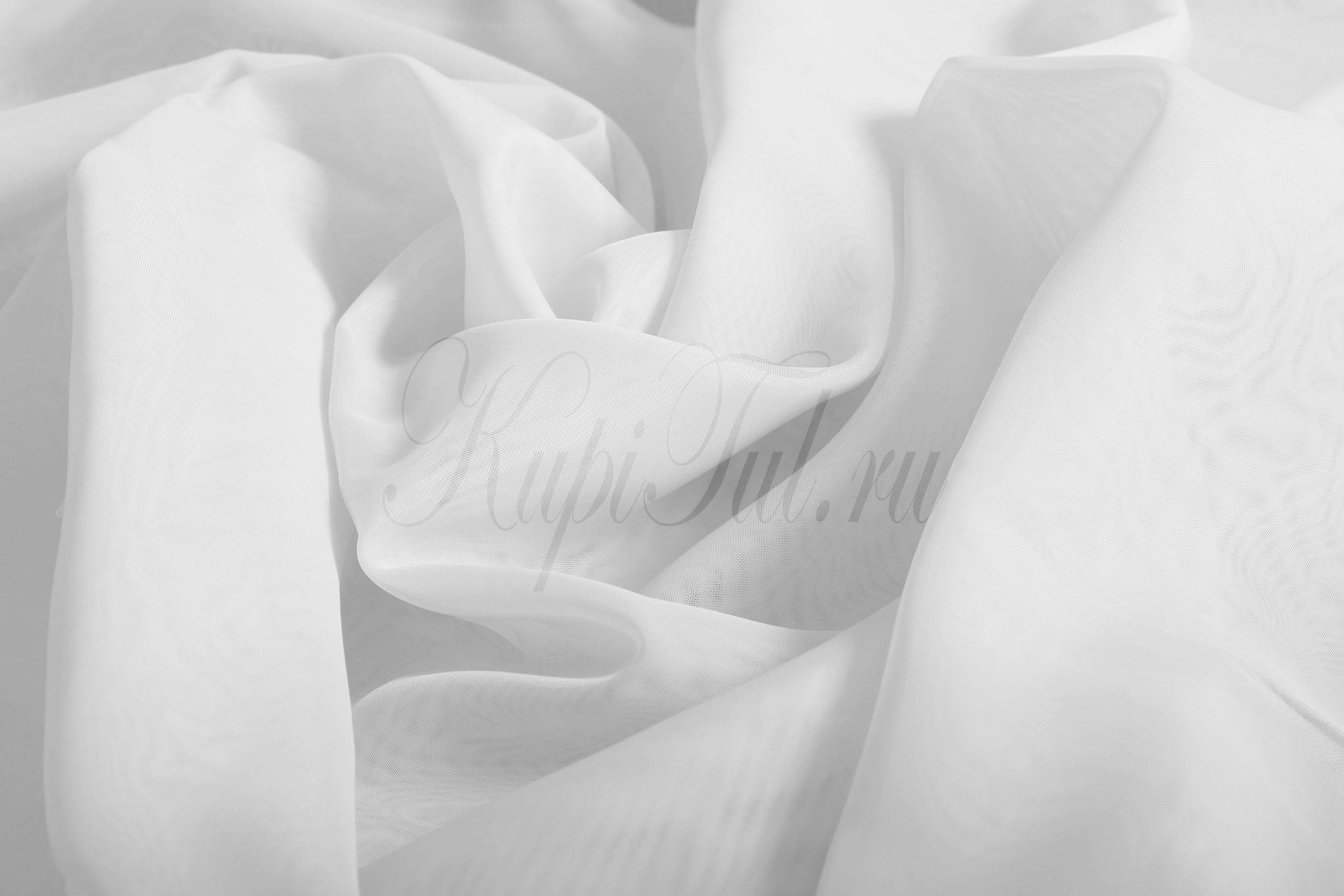Готовый тюль вуаль Classic Voile (white)