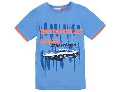 702-22 футболка детская, синяя