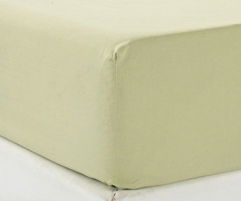 Простынь на резинке Valtery Джерси E Оливковая, вид 2