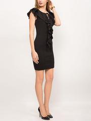 GDR009237 Платье женское, черное