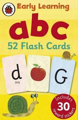 Kitab Ladybird Early Learning: ABC flash cards   Ladybird
