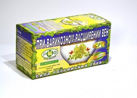 Фиточай сила российских трав Н6 варикоза 1,5 с N20 ф/п