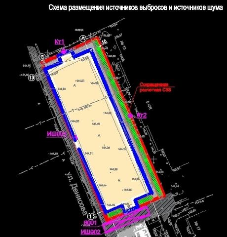 Пример СЗЗ для торгово-офисного здания