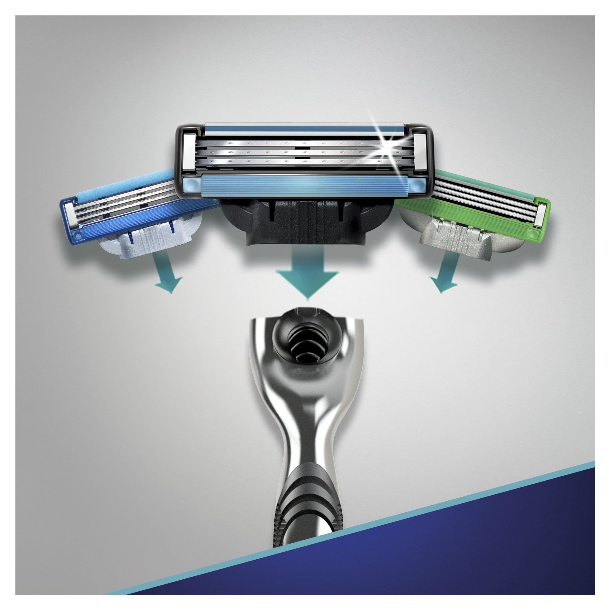 Кассеты для бритья Gillette mach 3 2 шт