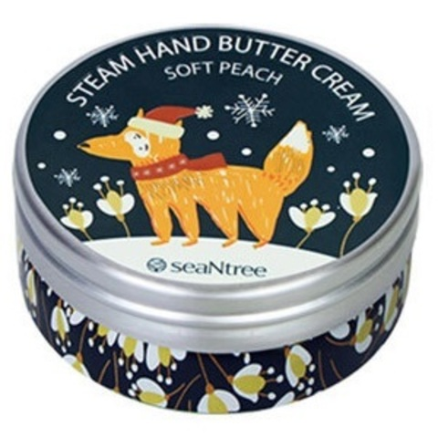 Арт-Крем для рук SeaNtree Art Steam Hand Butter Cream Soft Peach