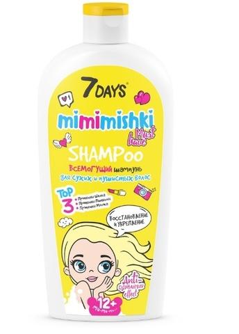 7 DAYS Mimimishki Шампунь для волос Всемогущий 400 мл ВСД035