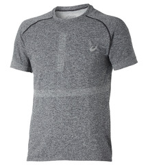 Мужская спортивная футболка Asics Seamless Top (121622 0934) серая