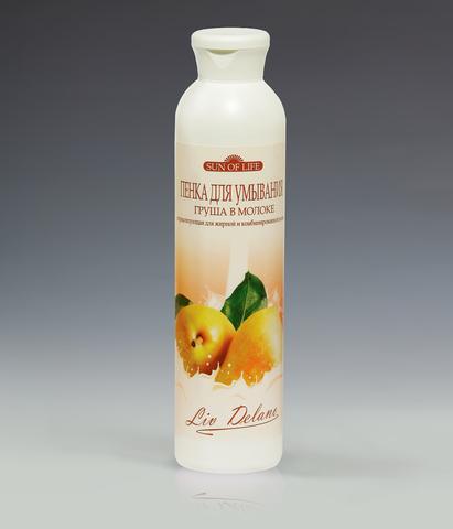 Пенка для умывания «Груша в молоке» нормализующая для жирной и комбинированной кожи