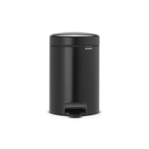 Мусорный бак newicon (3 л), Черный матовый, арт. 113321 - фото 1