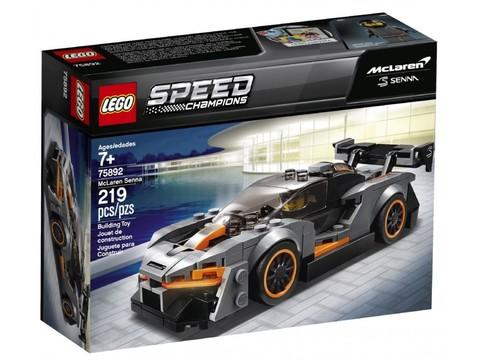 LEGO Speed Champions: Автомобиль McLaren Senna 75892 — McLaren Senna — Лего Спид чампионс Чемпионы скорости