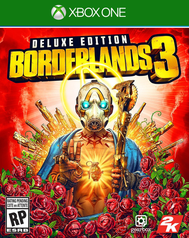 Microsoft Xbox One Borderlands 3. Deluxe Edition (русские субтитры)
