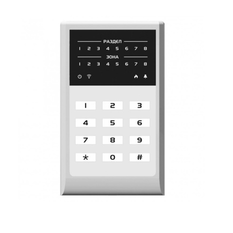 Кнопочная кодовая панель МИРАЖ-КД-04